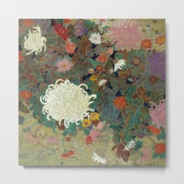 flower【Japanese painting】 Metal Print