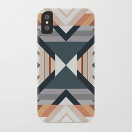 American Native Pattern No. 212 iPhone Case