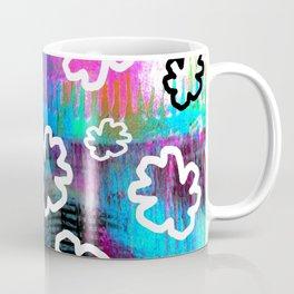 White Leaf Coffee Mug
