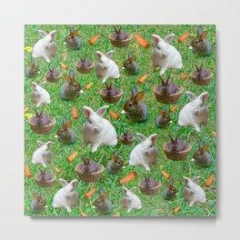 A lot of bunnies Metal Print