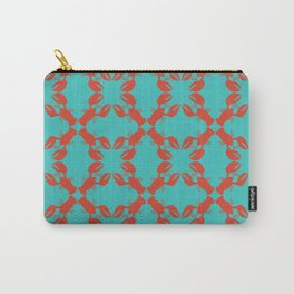 Orange Lobster Carry-All Pouch