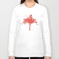 dota Long Sleeve T-shirts featuring First Blood! Bloodseeker by DotaZone Store