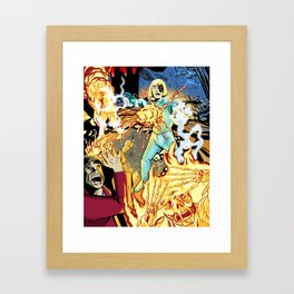 GUEST FROM THE FUTURE Framed Art Print