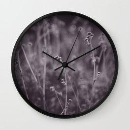 Desert Grasses Wall Clock