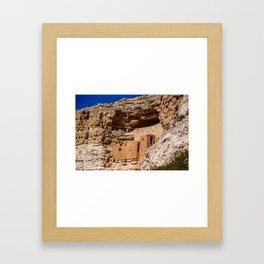 Montezuma's Castle in Arizona Framed Art Print
