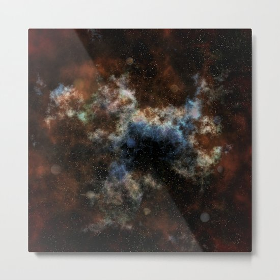 Spaced Out! Metal Print