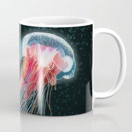 Jellyfish deep sea ocean creature illustration home decor drawing Coffee Mug