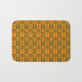 Ethnic african tribal pattern. Bath Mat