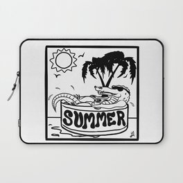 Summer Gator Days Laptop Sleeve