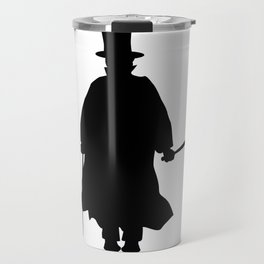 Jack the Ripper Silhouette Travel Mug