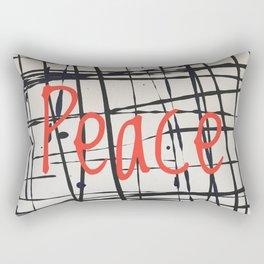 Best foot forward - Peace Rectangular Pillow