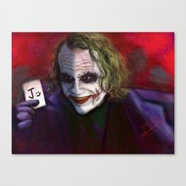 Pick a card Canvas Print