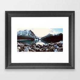 Lake Louise, Banff, Canada Framed Art Print