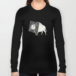 Not Amused (Dark) Long Sleeve T-shirt