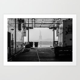 "Liberty thru ""The Boat"" Art Print"