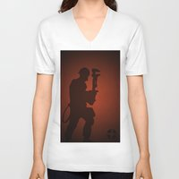 engineer V-neck T-shirts featuring Engineer by samread