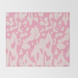 Modern Abstract Ikat Pink P  #homedecor Throw Blanket