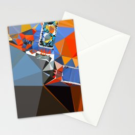 shape of my heart Stationery Cards