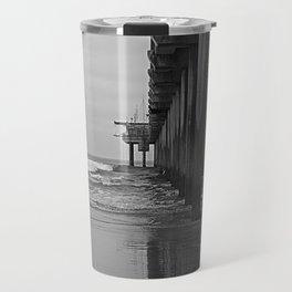 Scripps Pier Travel Mug
