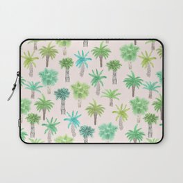 Watercolor Palm Trees Laptop Sleeve