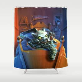 Werewolf Skin Shower Curtain
