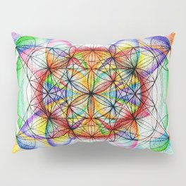 Sunrise - The Sacred Geometry Collection Pillow Sham