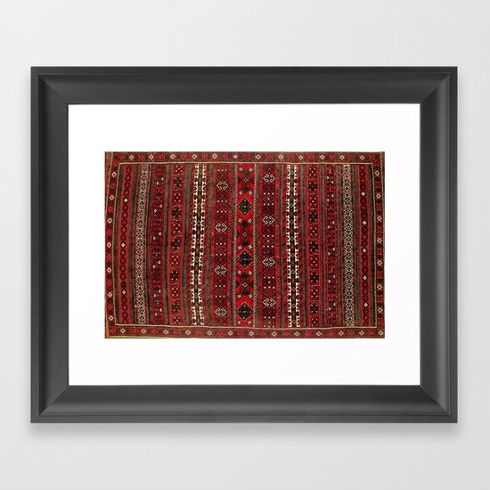 Baluch Flatweave  Antique Afghanistan  Rug Print by vickybragomitchell