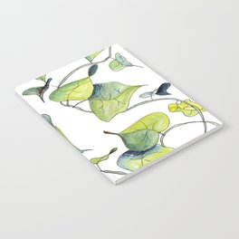 Blue and Green Vines, Pattern Notebook