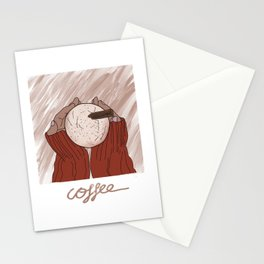 Coffeee Cozzy Holidays Stationery Cards