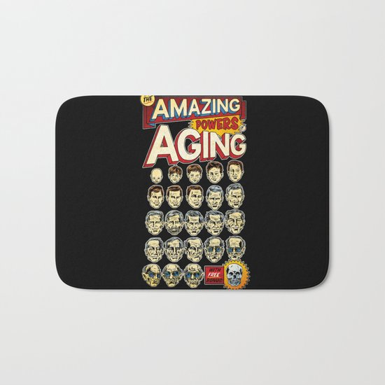 The Amazing Powers of Aging! Bath Mat