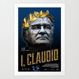 I, Claudio Art Print