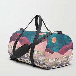 Magenta Mountain Duffle Bag
