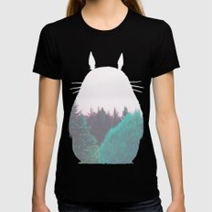 Troll of the Dreamland Forest Black Womens Fitted Tee MEDIUM