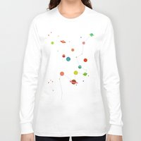 planets Long Sleeve T-shirts featuring Planets by camilla falsini