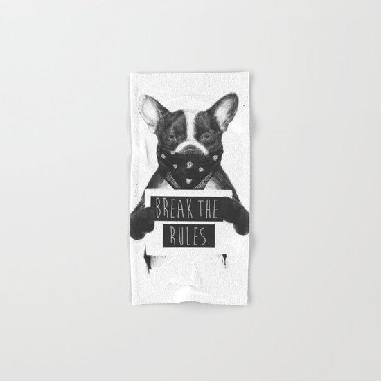Rebel dog Hand & Bath Towel