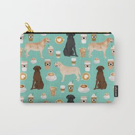 Labrador retriever gifts for lab owners golden retriever chocolate lab black lab dog breeds Carry-All Pouch