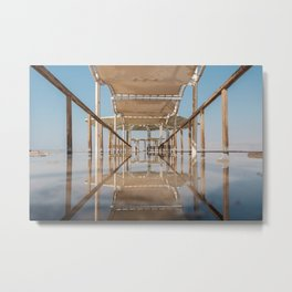 A view of the dead sea Metal Print