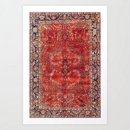 Sarouk Arak West Persian Carpet Art Print