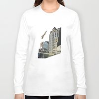 naked Long Sleeve T-shirts featuring Naked by fabiotir