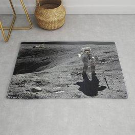 Apollo 16 - Plum Crater Rug