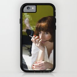 Mia, Pulp Fiction iPhone Case