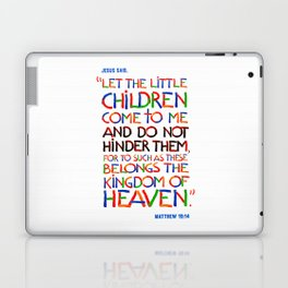Let the little children come to me Laptop & iPad Skin