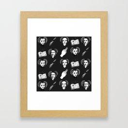 Badass Buffy B*tches Framed Art Print