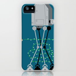 season's greetings from hoth iPhone Case