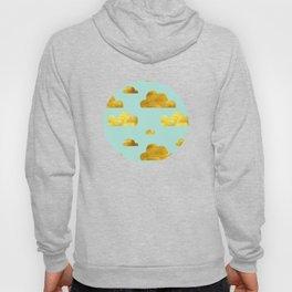 Gold cloud blue Hoody