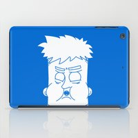 fat iPad Cases featuring Fat Kid by Jonas Pelzer