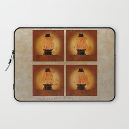 A Moment In Time (Red) Laptop Sleeve