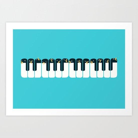 The Choir of Antarctica Art Print