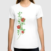 pomegranate T-shirts featuring Pomegranate by artina