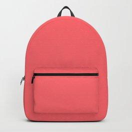 Retro Orange Ice Cream Color Backpack